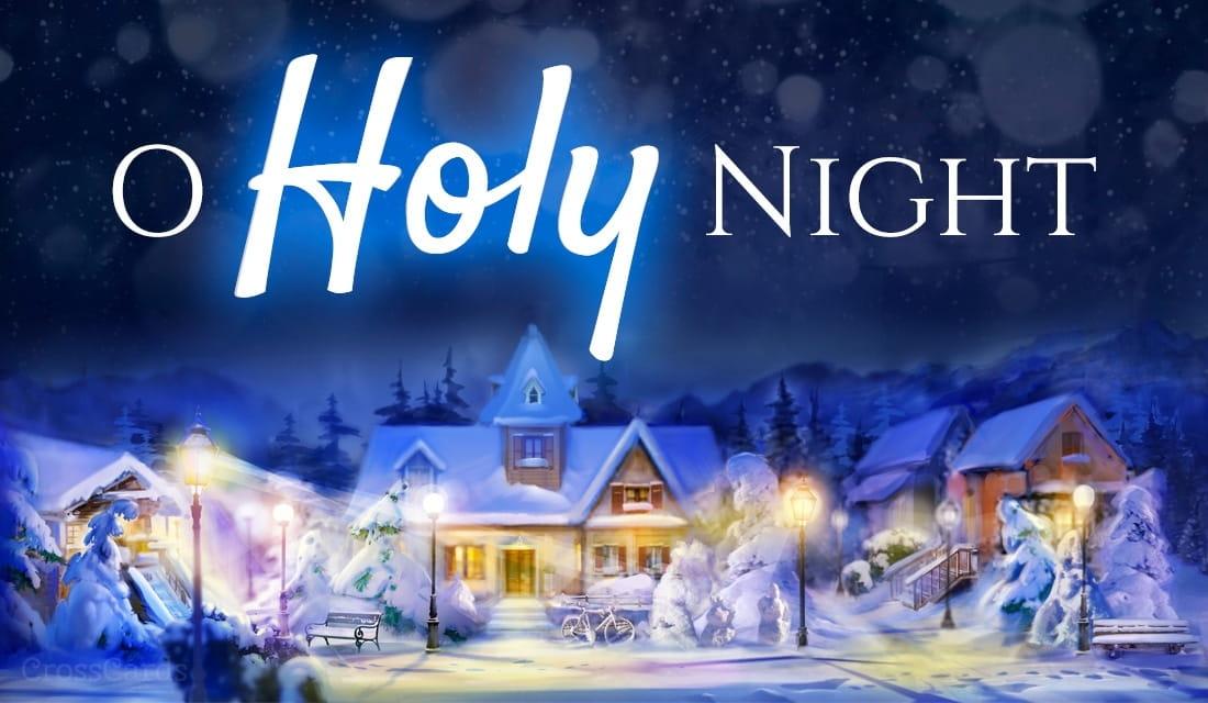 O Holy Night ecard, online card