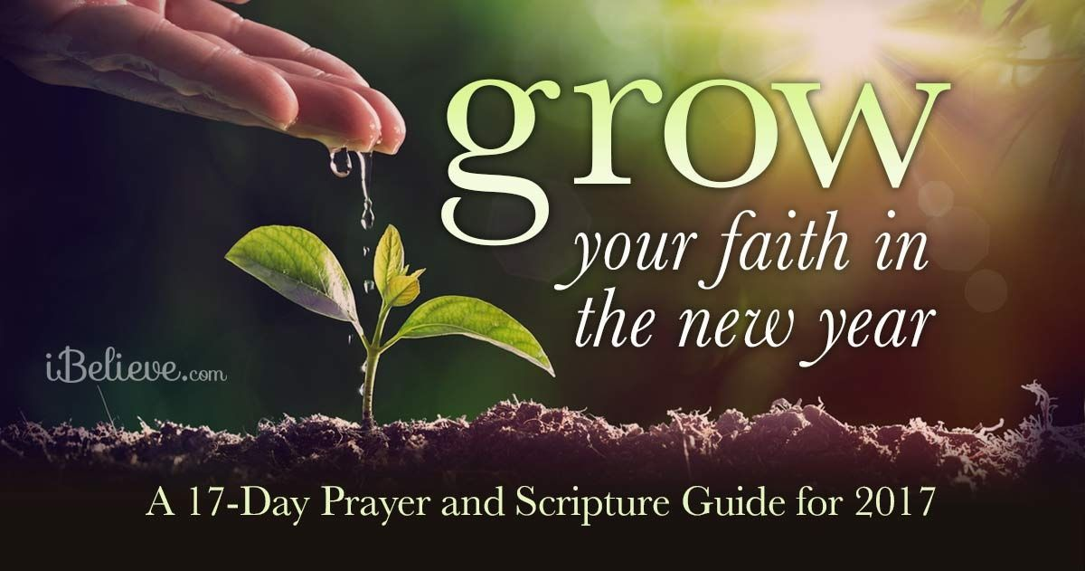Grow Your Faith in the New Year: A 17-Day Prayer and Scripture Guide ...