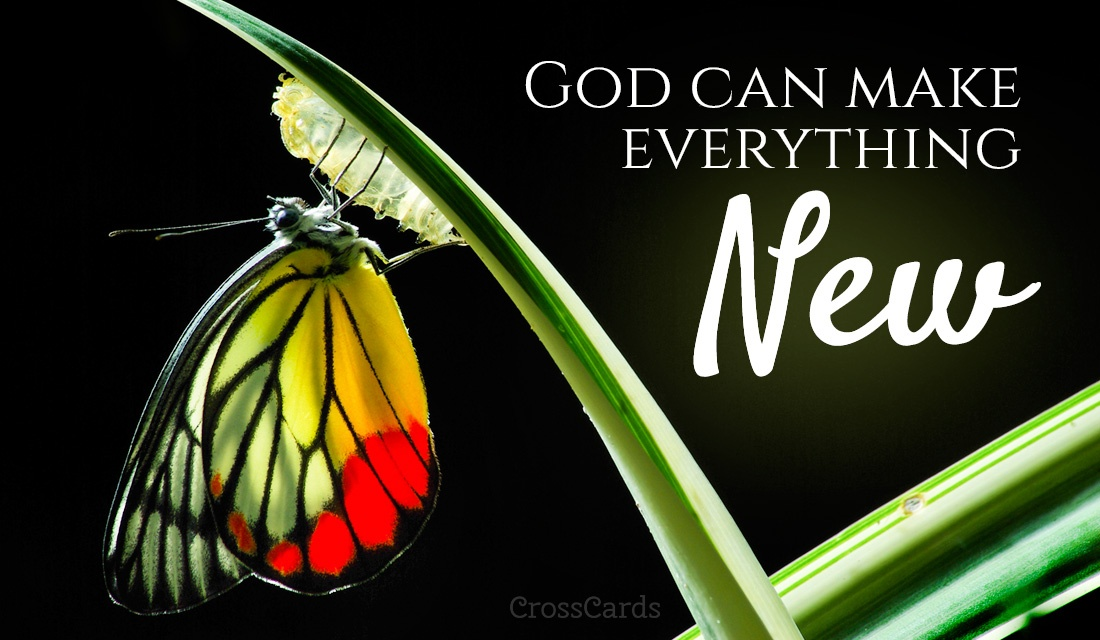 god can make everything new