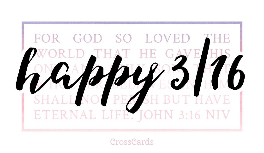 Happy 3/16 Day! ecard, online card