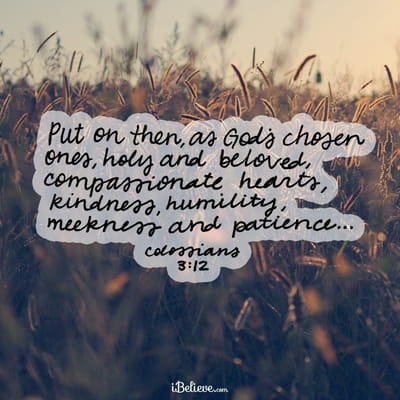 Your Daily Verse - Colossians 3:12