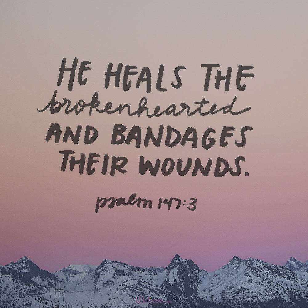 He Heals the Brokenhearted