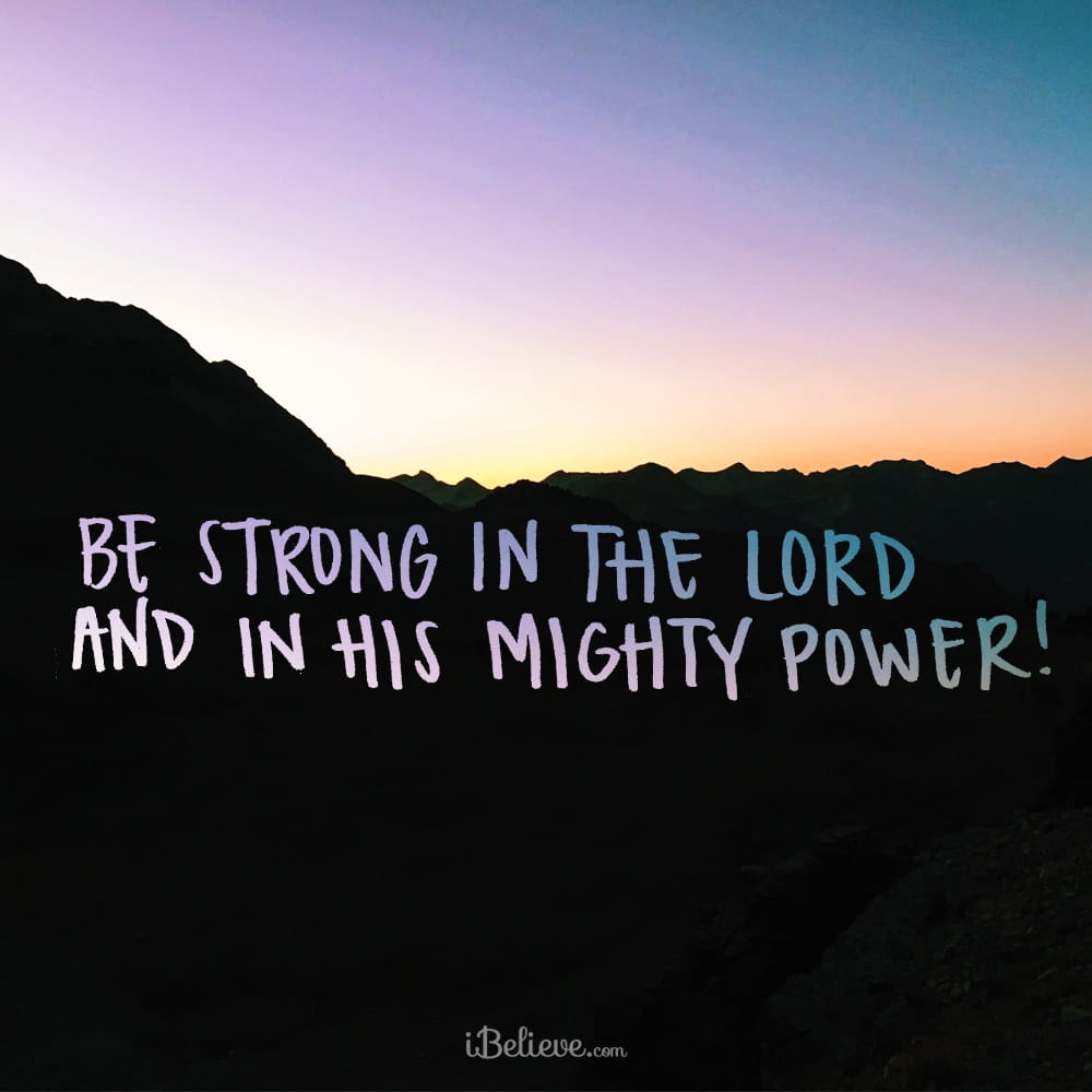 20 Incredible Bible Verses About Gods Strength