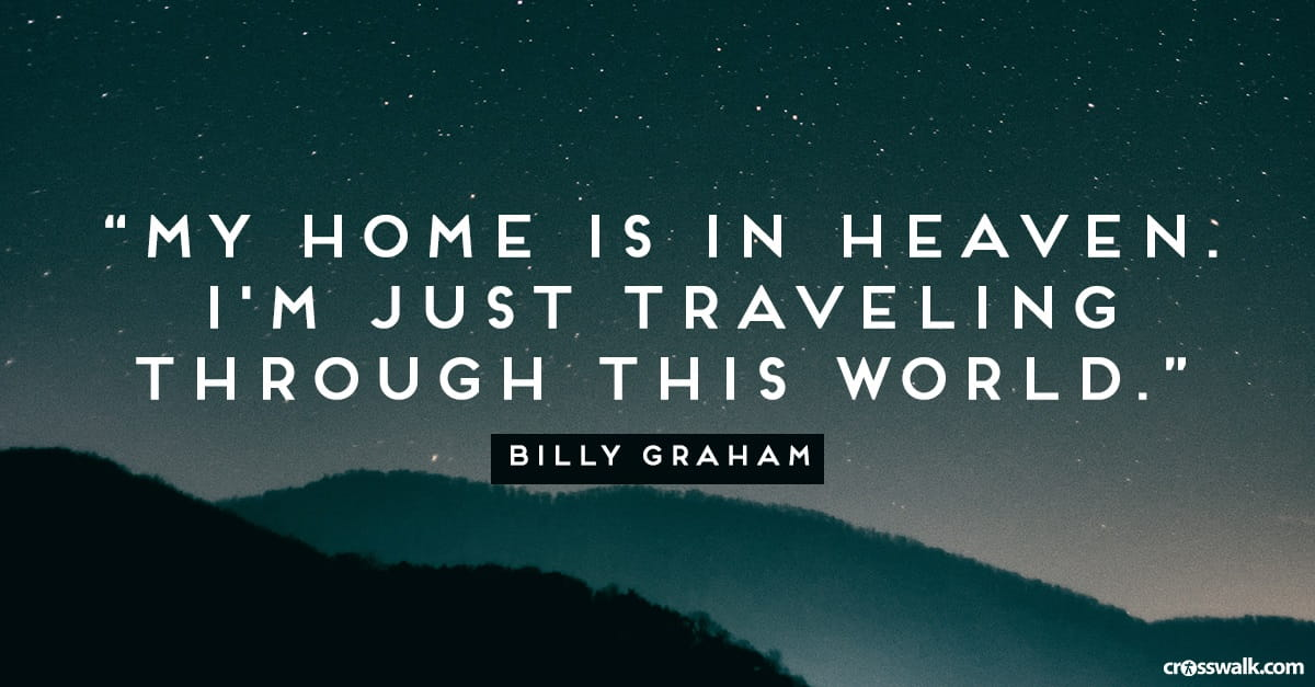 Thank You Billy Graham For Your Faithful Service To Christ