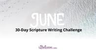 June Scripture Writing Guide (2018)