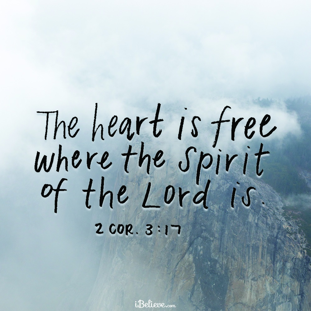 Your Daily Verse - 2 Corinthians 3:17