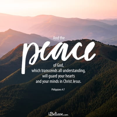 Your Daily Verse - Philippians 4:7
