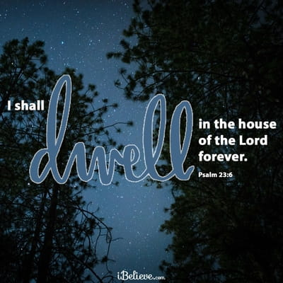 Your Daily Verse - Psalm 23:6