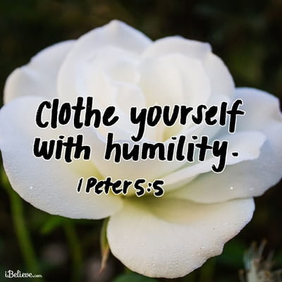 Your Daily Verse - 1 Peter 5:5