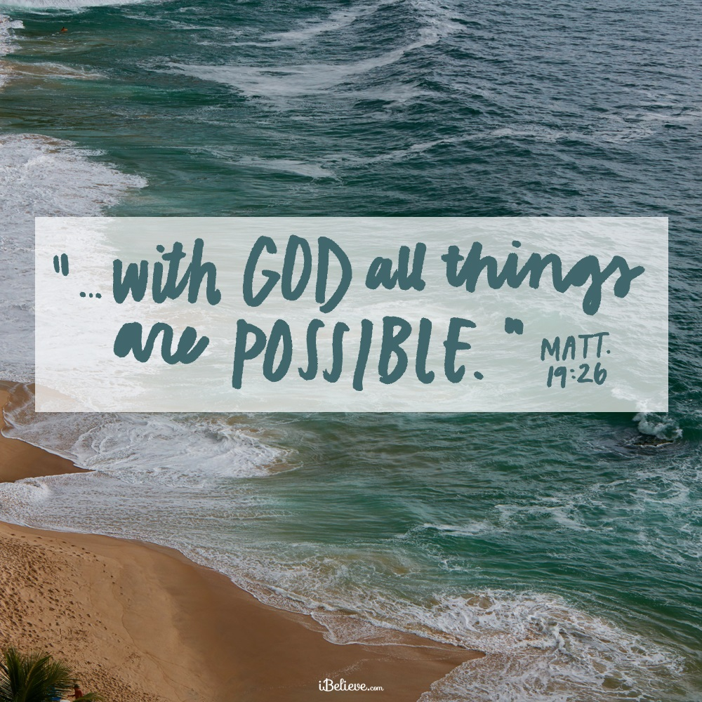 Your Daily Verse - Matthew 19:26