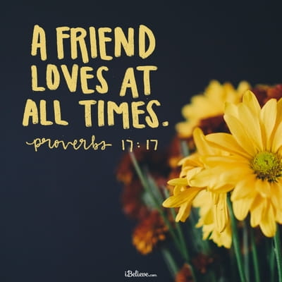 Your Daily Verse - Proverbs 17:17