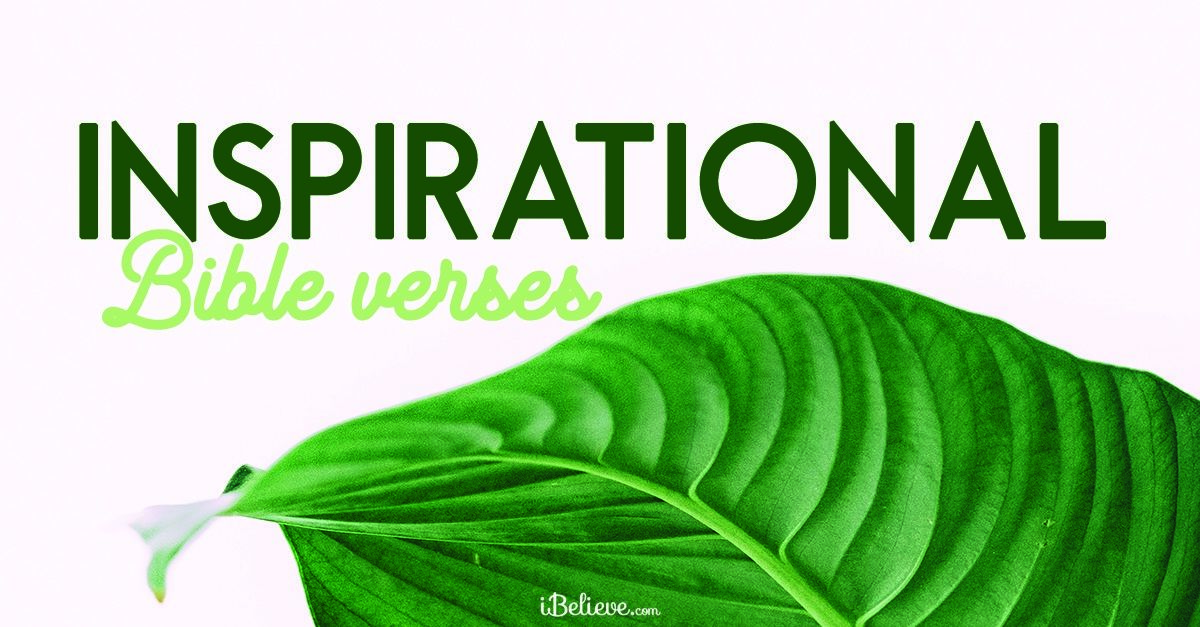 30 Inspirational Bible Verses - Scripture to Inspire Your Soul