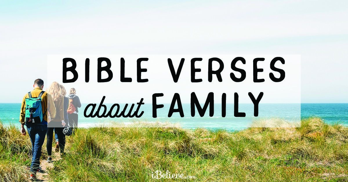 bible verses about family scripture for solving family problems