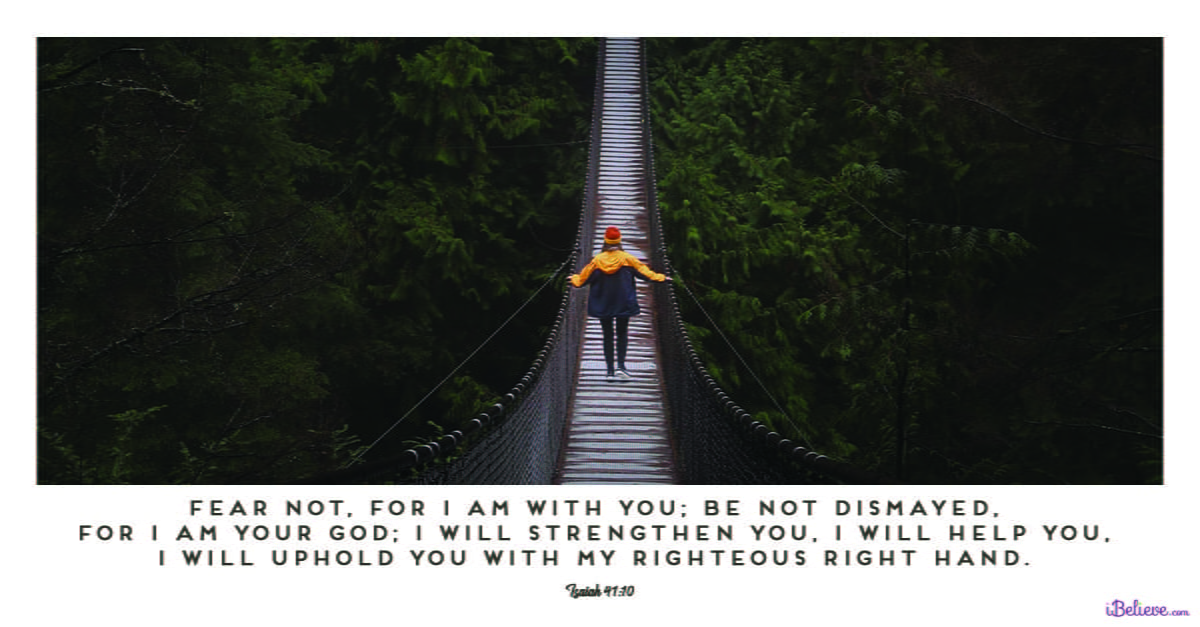 23 Bible Verses To Fight And Overcome Fear