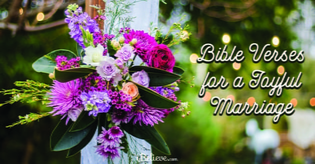 30 Bible Verses for a Joyful Marriage