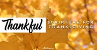 25 Heart-Warming Bible Verses For Thanksgiving & Being Thankful