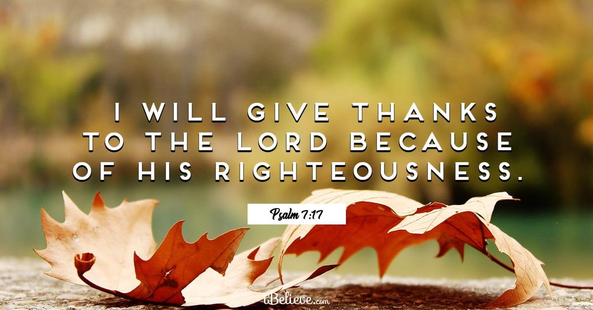 25 Heart-Warming Thanksgiving Bible Verses & Scriptures
