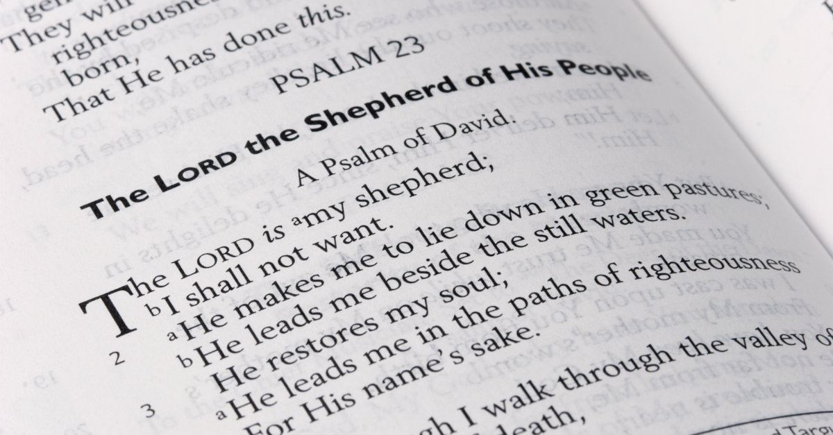 10 Treasures Uncovered in Psalm 23