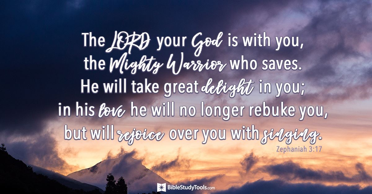 Your Daily Verse - Zephaniah 3:17
