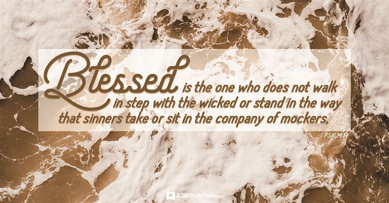 Psalm 1 - NIV Bible - Blessed is the one who does not walk in step