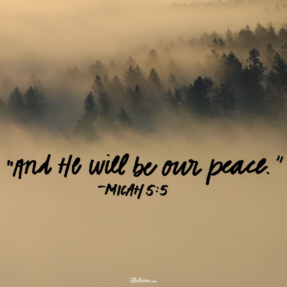 Your Daily Verse - Micah 5:5