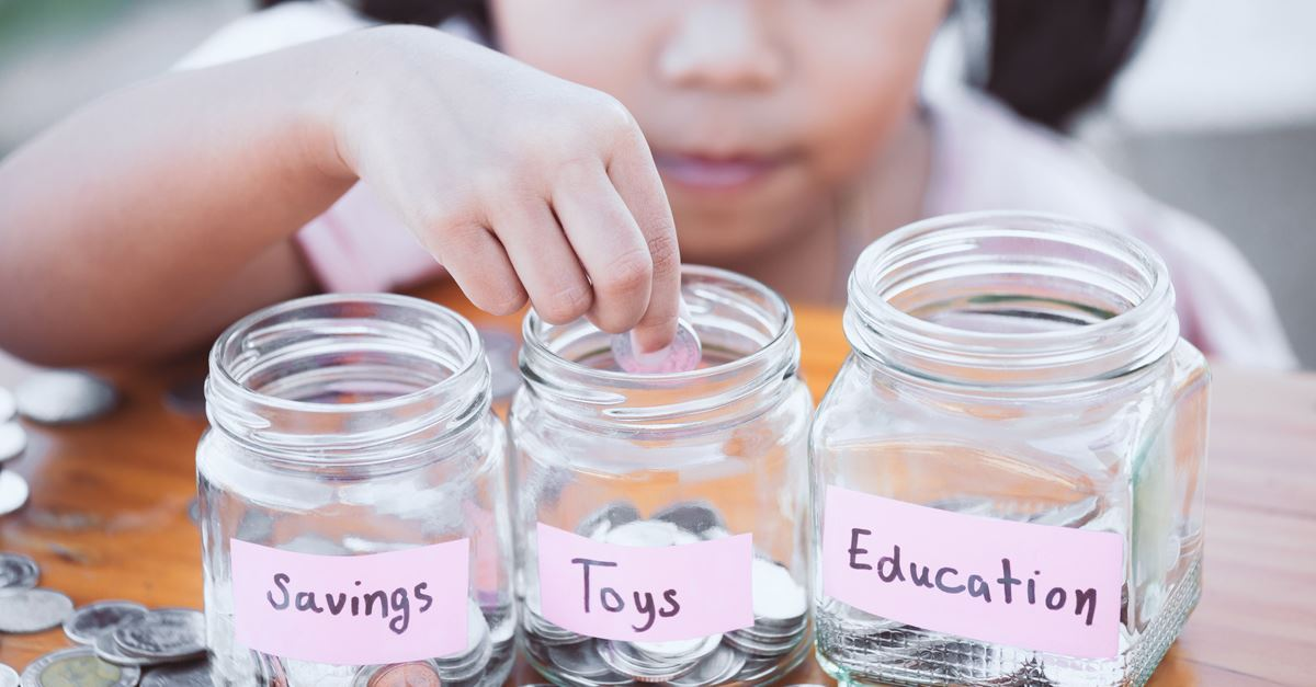2. Have your child earn his own money.