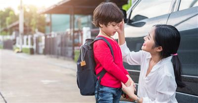 A Prayer to Pray with Your Kids before School