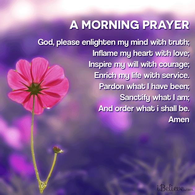 morning prayers, morning blessings