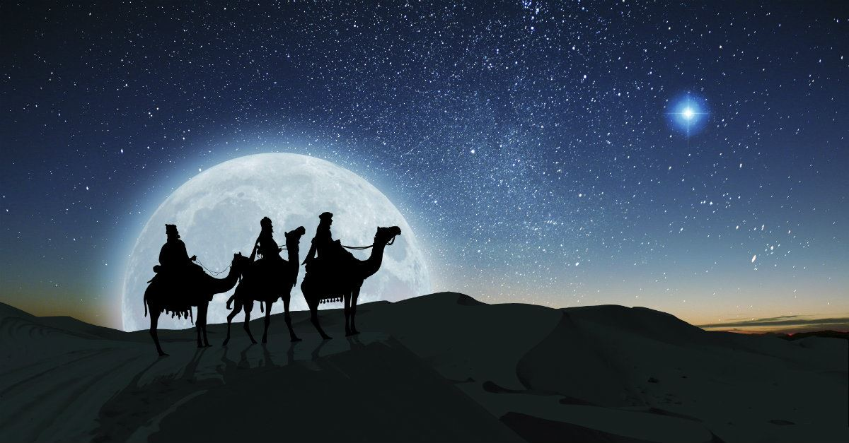 the three magi traveling kings from the east
