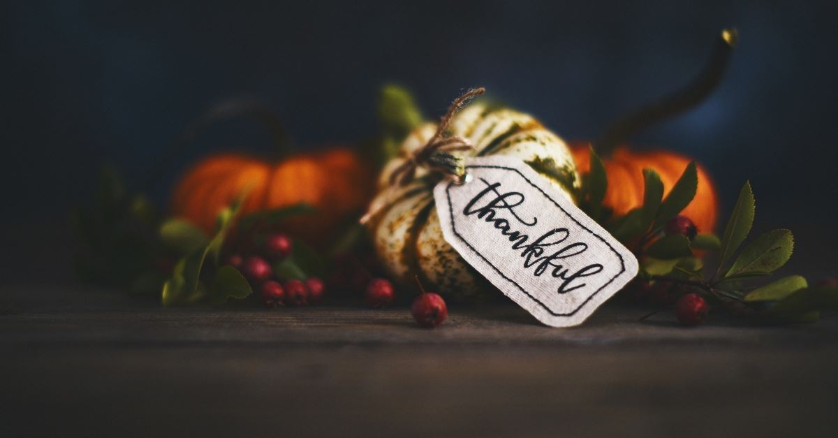 30 Thanksgiving Blessings - Short Prayers to Give Thanks