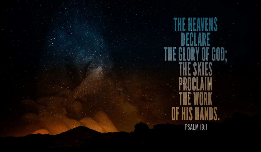 Your Daily Verse - Psalm 19:1