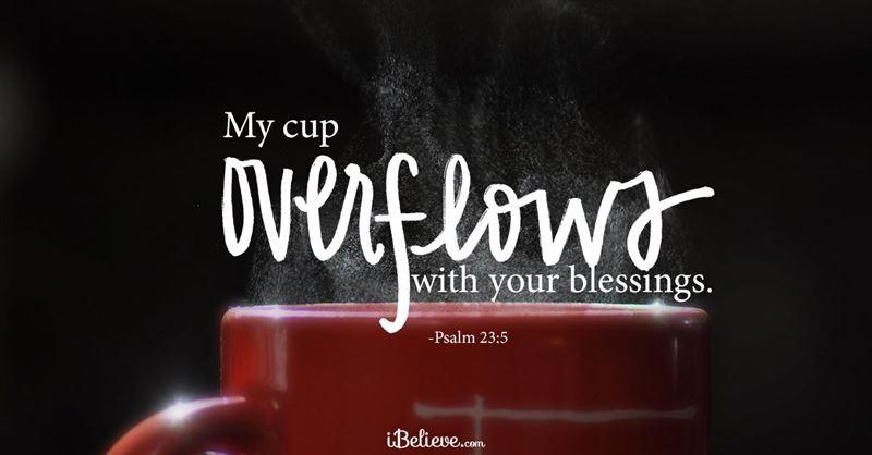 Psalm 23 - NIV Bible - The LORD is my shepherd, I lack
