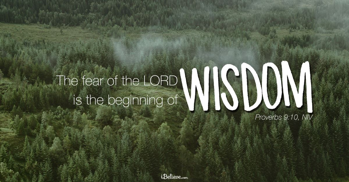 Your Daily Verse - Proverbs 9:10