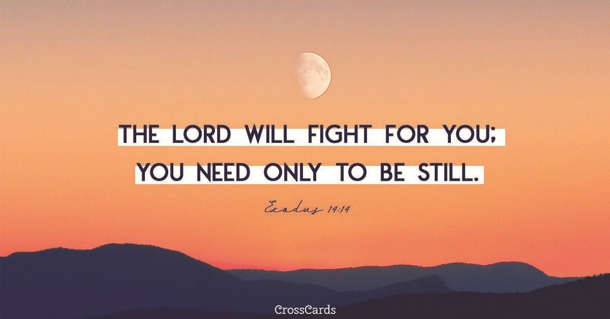 Your Daily Verse - Exodus 14:14