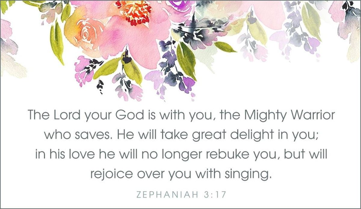 Your Daily Verse - Zephaniah 3:17