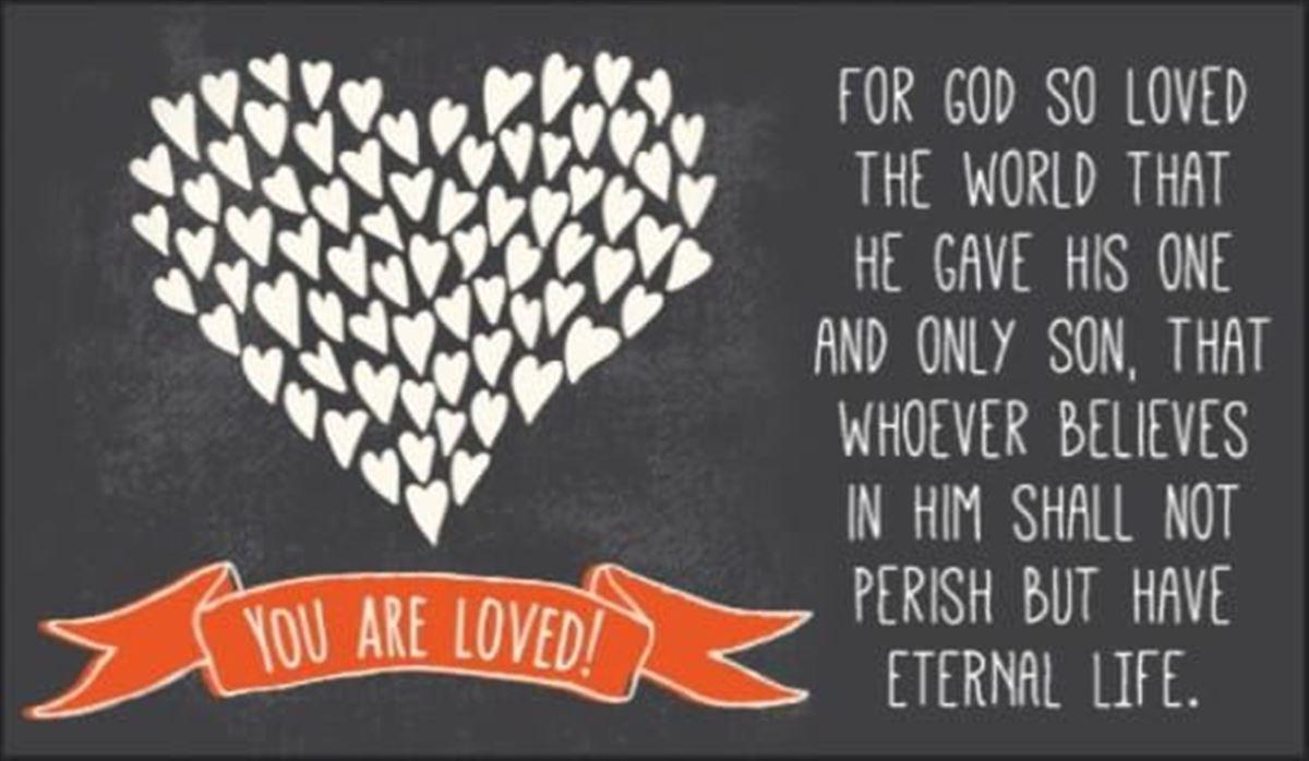 Your Daily Verse - John 3:16