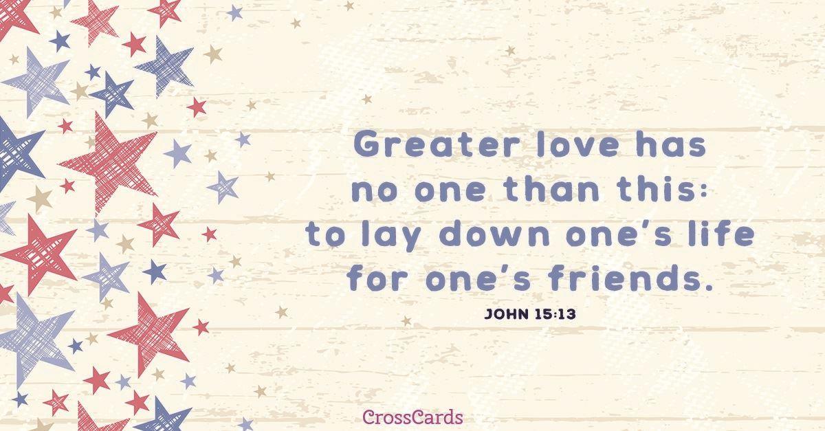 Your Daily Verse - John 15:13