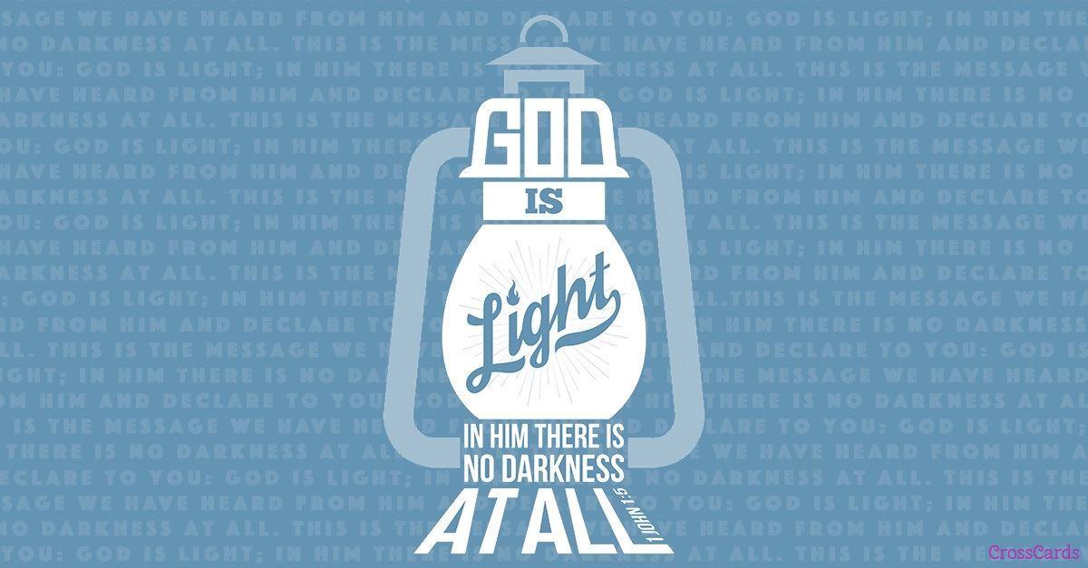 Your Daily Verse - 1 John 1:5