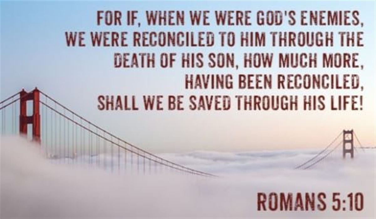 Your Daily Verse - Romans 5:10
