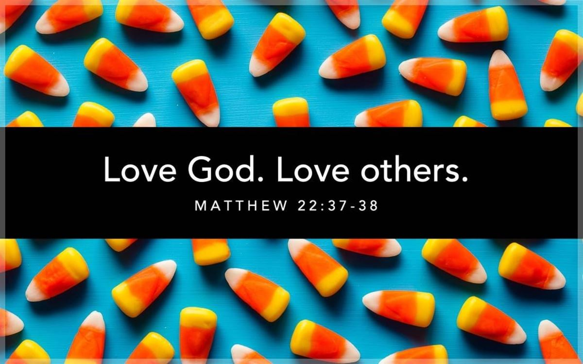 Your Daily Verse - Matthew 22:37-39