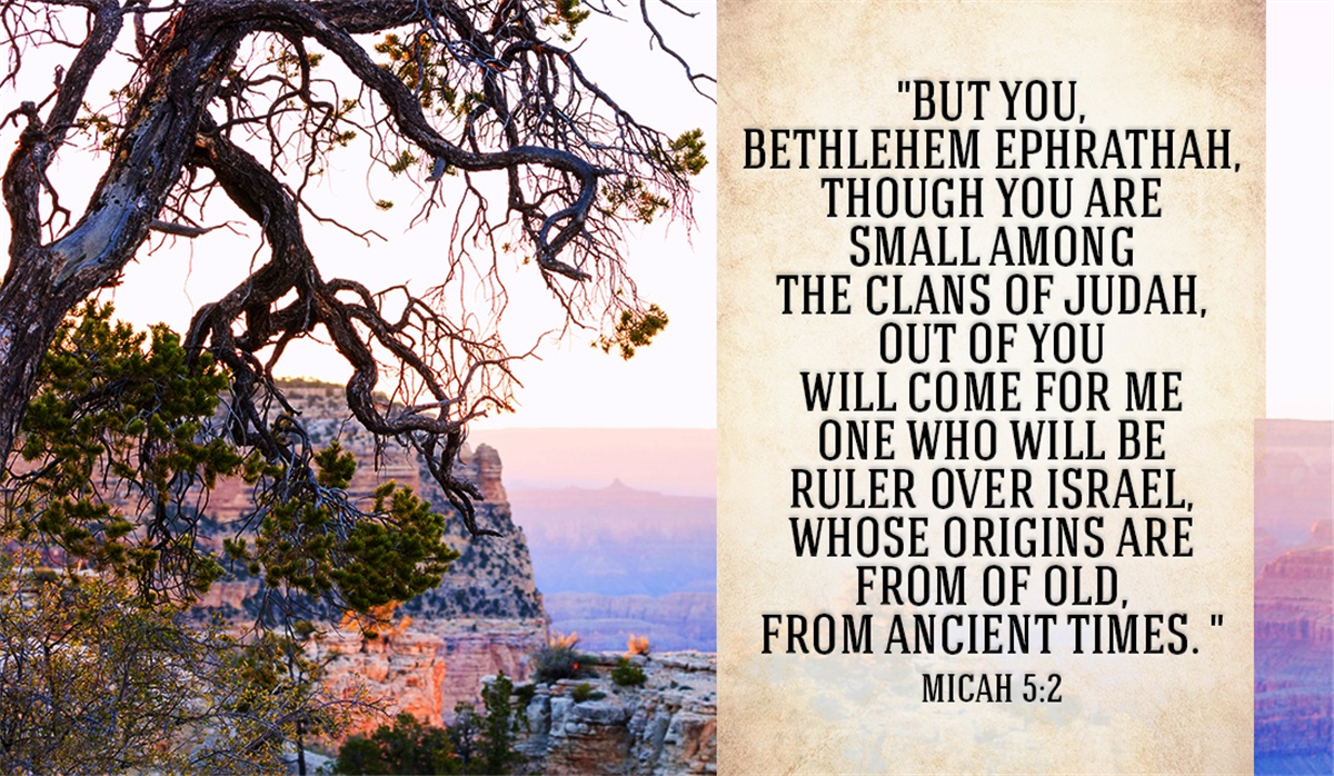 Your Daily Verse - Micah 5:2