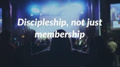 Don't Make More Christians, Make Disciples