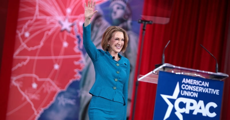 Carly Fiorina: If Supreme Court Legalized Gay Marriage, I Wouldn't Reverse It
