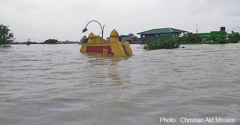 Flooding, Landslides Hit Vast Area of Burma; Christians Denied Aid