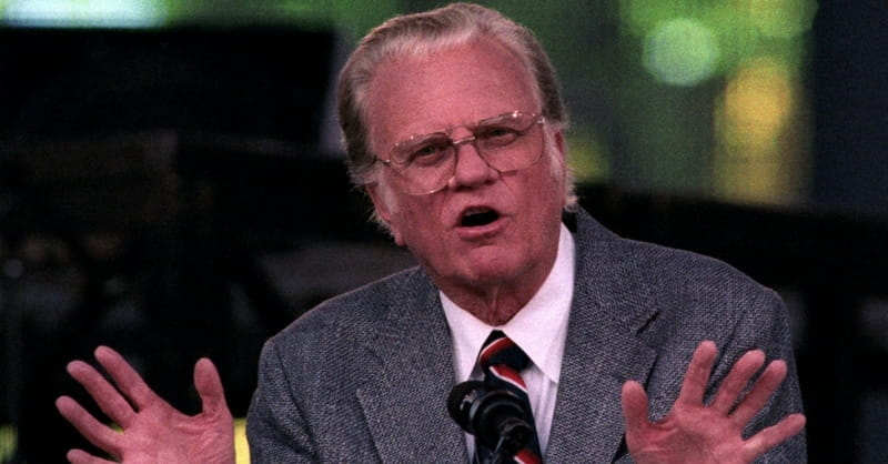 Billy Graham Assures Seniors it is OK if They Cannot be Physically Present in Church