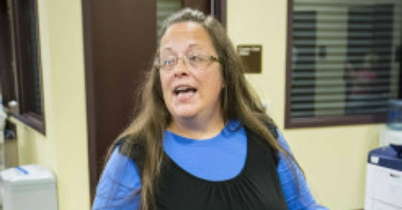 KY Clerk's Office Will Issue Marriage Licenses Friday — without the Clerk