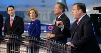 Fiorina Battles Trump in Second Debate
