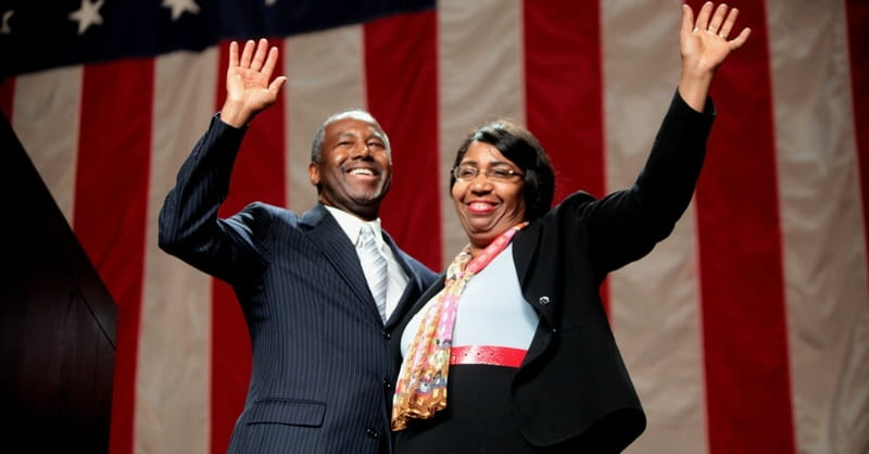 Ben Carson's Wife Says He is Called to Run for President and Will Stay in Race