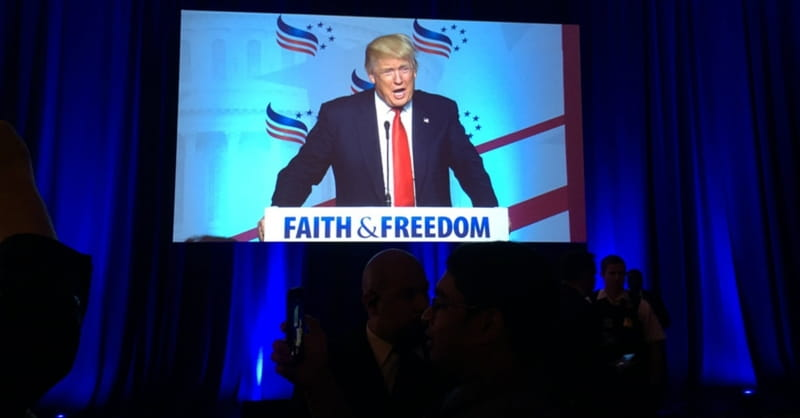 How Donald Trump Divided and Conquered the Religious Right