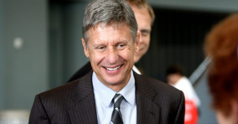 Libertarian Candidate Gary Johnson on His Faith: 'I Do Believe in God'